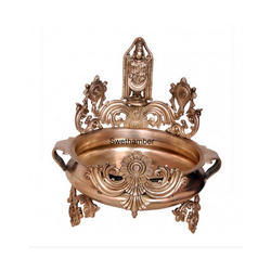 16 Inches Bronze Decorative Balaji Urli