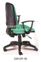 Synthetic Leather Computer Chairs, Warranty: 1 Year