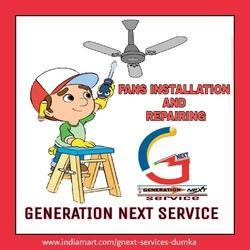 Fan Installation And Repairing
