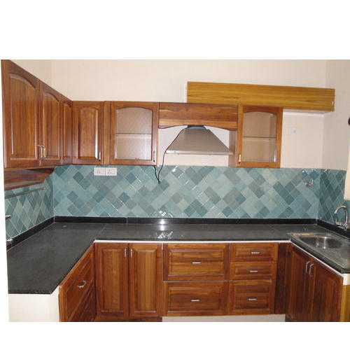 Classic Modular Kitchen Cabinets Rs 18000 Piece: Classic U Shaped Modular Kitchen, Rs 300000 /piece, A.R