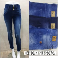 SBF Stretchable Ladies Jeans, Waist Size: 28 - 34, Packaging Type: Poly Bag