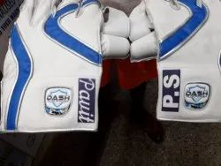 Dash sports Blue Wicket Keeping Gloves, Size: Large