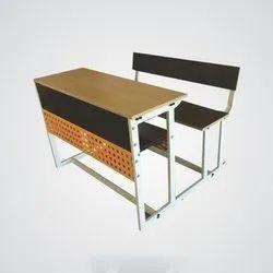 Dual Wooden Desk