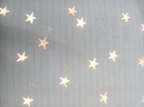 Star Gold Foil Print
