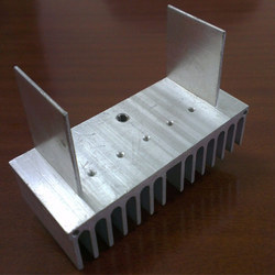 Rectangular Anodized Aluminium Heat Sink