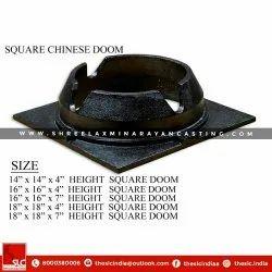 SLC Cast Iron Square Chinese Doom