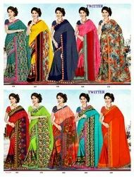 Low Range Georgette Saree