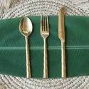 Brass Antique Cutlery Set