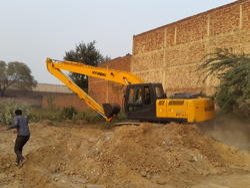 Excavator Long Boom Attachment