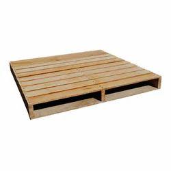 Rectangular Plywood Two Ways Wooden Pallet
