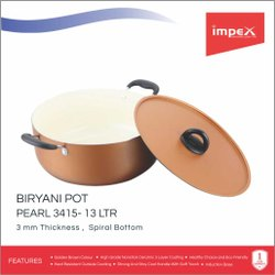 Impex Biryani Pot 13 Ltr (ISP 3415)