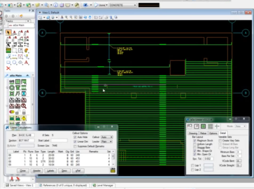 ASa Bentley Software For CAD Detailing Rebar Cad