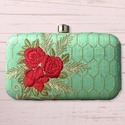 Rectangle Ladies Box Clutch