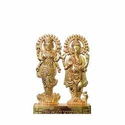 Metal Ganesh  Lakshmi Statue