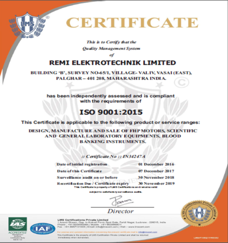 Remi Elektrotechnik Limited - Manufacturer from Andheri East, Thane