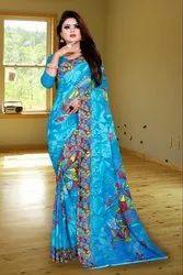 casual women's wear saree