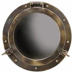 Metal Marine Porthole Mirror