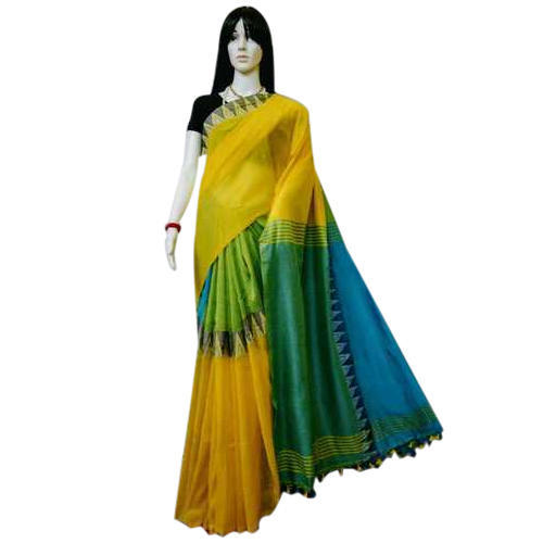 Party Wear Designer Saree, With Blouse Piece