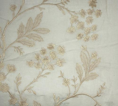 Plain Cotton Embroidered Voile Fabric, GSM: 50-100 GSM, for Dress