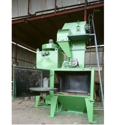 Swing Table Shot Blasting Machine
