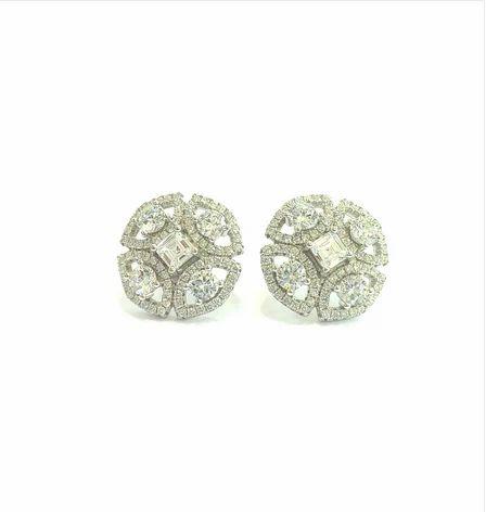 Mahna Jewellers 925 Sterling Silver Earrings Tops