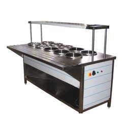 10 Round SS Container Bain Marie