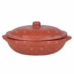 Terracotta Frying Pan