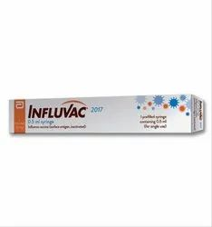 Influvac 0.5ml Syringe at Rs 800/pack | Influenza Vaccine | ID: 20592212088