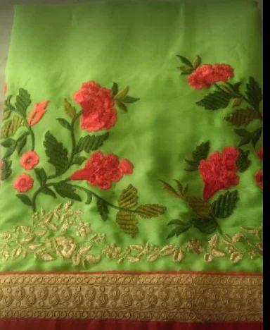 Etisha Embroidery, Surat - Service Provider of Custom Embroidery