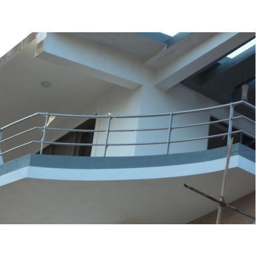 Stainless Steel Apartment Balcony Railing, Rs 1500
