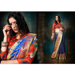 Designer Cotton Saree