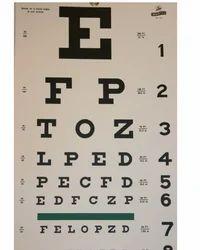 Eye Testing Chart