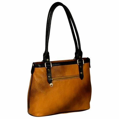 e4e901b623 Women  s Light Brown Shopper Leather Bag