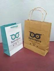 Duplex Board Spectacles Paper Bags, Capacity: 1 kg