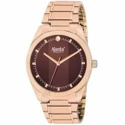 Ajanta's Brown Dial with Stainless Steel Belt AWC038-BRR-R