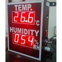 Temperature Humidity Display