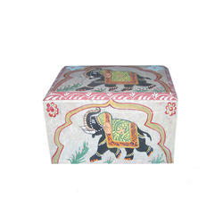 Soapstone Elephant  Box