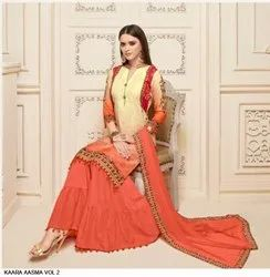 Cotton Sharara Suits