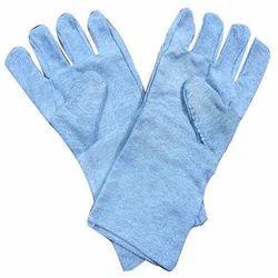 Jeans Fabric Full Finge  Hand Gloves
