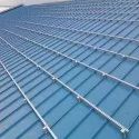 GI Roof top solar structure