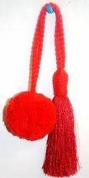 Red Pom Pom Toy