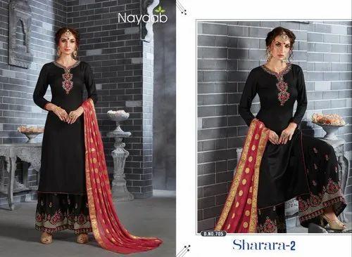 450c6a5808 Nayaab Designer Sharara Suits - Nayaab Wedding Sharara Suits ...