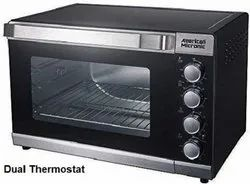 Grill American Micronic AMI-OTG 230V 15l Oven Toaster Grller 1300wt (Black), For Personal
