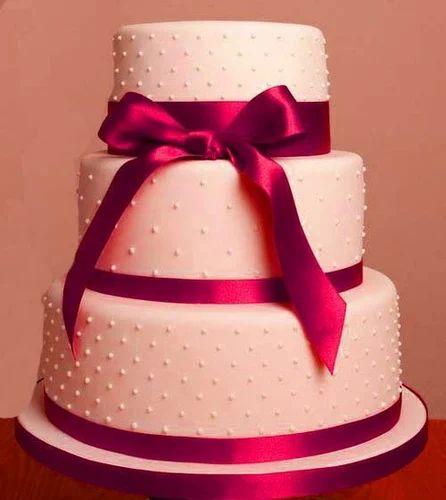 Ribbon Wedding Cakes