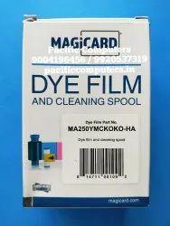 Magicard Ribbon MA250YMCKOKO-HA Half Panel Ribbon