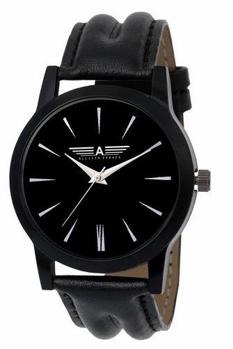 Gypsy Club Mens Black Strap Watches