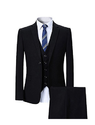 Youthup Mens Tailored Fit 3 Piece Formal Business Suit