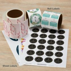 Label Stickers Printing Services, Location: Delhi