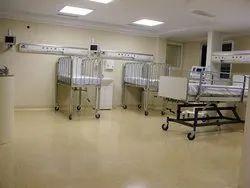 PVC Vinyl Flooring for Hospital, Thickness: 6.5-2 mm, Size: 2*20 m