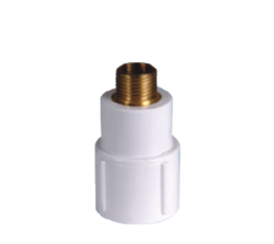 UPVC Brass Reducer MTA
